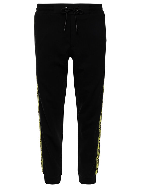 MCQ Alexander McQueen MCQ Alexander McQueen Pantaloni da tuta 406536 RNT20 1000 Nero Regular Fit