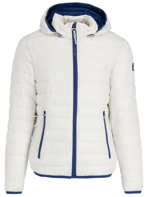 Pepe Jeans Pepe Jeans Пухено яке Rick PM402138 Бял Regular Fit