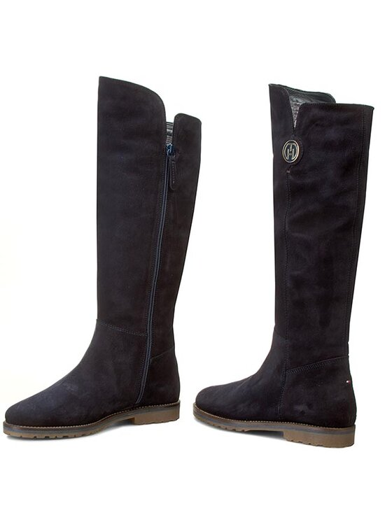 Tommy Hilfiger Tommy Hilfiger Μπότες Wendy 3BS FW56820019 Σκούρο μπλε