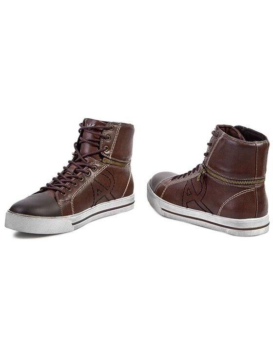 Armani Jeans Armani Jeans Sneakersy Z6550 53 17 Brązowy