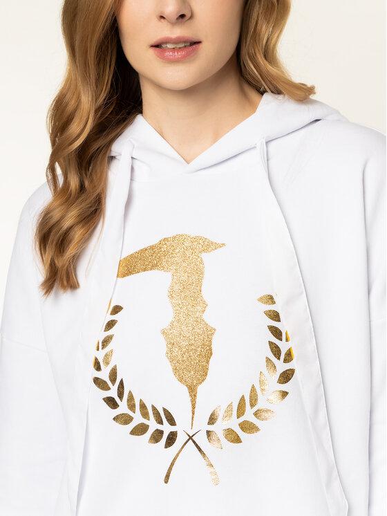 Trussardi Trussardi Sweatshirt 56F00085 Blanc Regular Fit