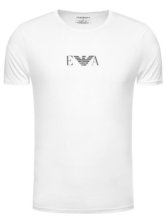 Emporio Armani Underwear Emporio Armani Underwear Lot de 2 t-shirts 11267 CC715 04710 Blanc Slim Fit