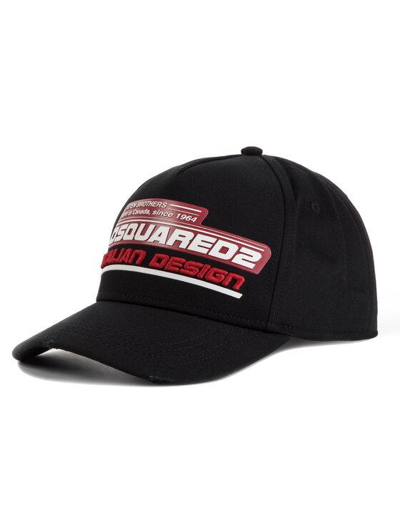 Dsquared2 Dsquared2 Καπέλο Jockey Italian Design Baseball BCM0192 08C00001 2124 Μαύρο