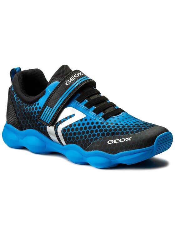Geox Geox Polobotky J Munfrey B. D J744BD 014CE C0114 D Černá