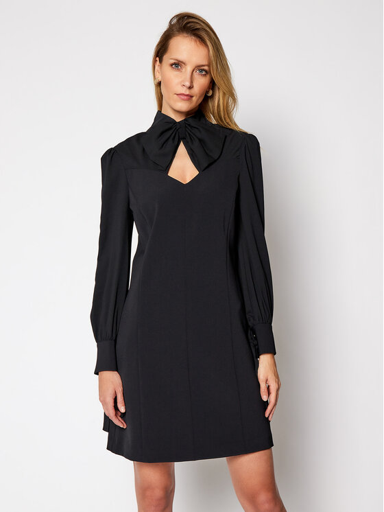 Marciano Guess Kokteilinė suknelė Blanche 0BG726 9373Z Juoda A-Line Fit