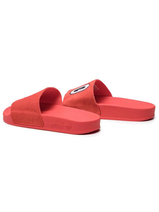 adidas adidas Nazouváky adilette W CM8412 Červená