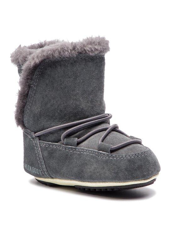 Moon Boot Sniego batai Crib Suede 34010300002 Pilka
