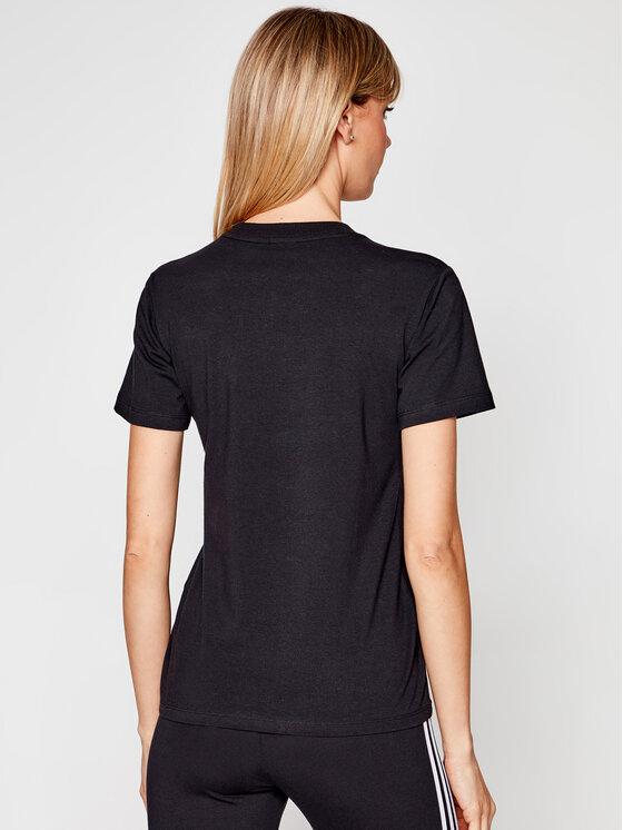 adidas adidas T-shirt Trefoil Tee GN2896 Crna Standard Fit