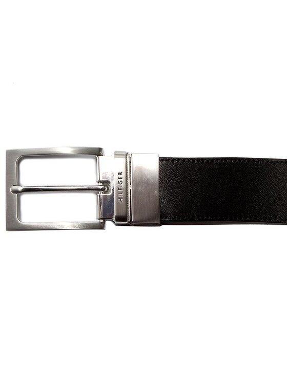 Tommy Hilfiger Tommy Hilfiger Pánský pásek Ray Belt 3.5 Rev AM0AM02220 90 Hnědá