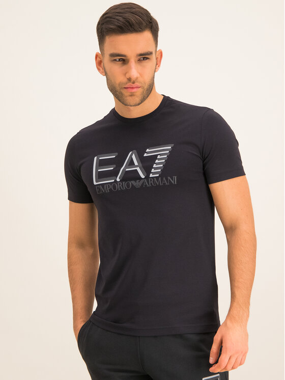 EA7 Emporio Armani EA7 Emporio Armani T-shirt 3HPT62 PJ03Z 1200 Noir Slim Fit