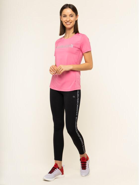 Calvin Klein Performance Calvin Klein Performance T-shirt 00GWS9K157 Rosa Regular Fit