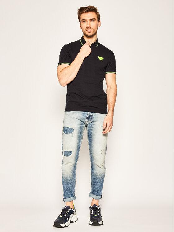 Emporio Armani Emporio Armani Polo marškinėliai 3H1F93 1J46Z 0922 Tamsiai mėlyna Regular Fit