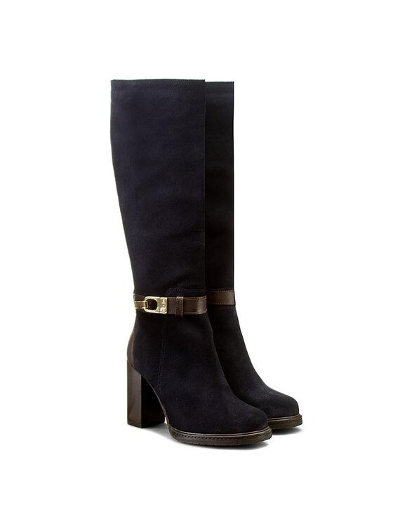 Tommy Hilfiger Tommy Hilfiger Μπότες Hillary 8C FW56821504 Σκούρο μπλε