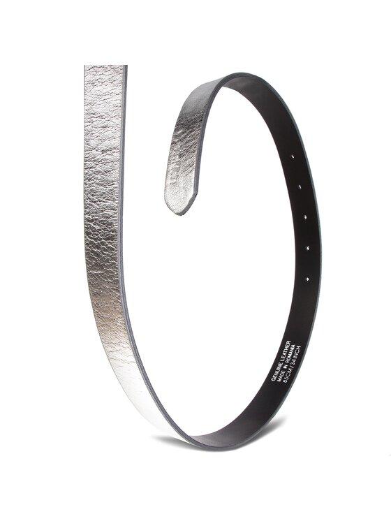 Calvin Klein Calvin Klein Дамски колан 2.5Cm Ck Slider Belt K60K604900 Сребрист