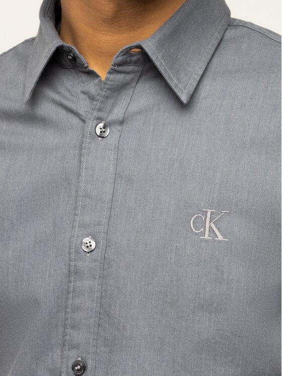 Calvin Klein Jeans Calvin Klein Jeans Koszula J30J314243 Szary Slim Fit