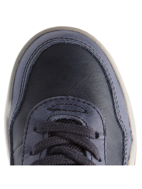 Geox Geox Šnurovacia obuv J Perth B. C J847RC 05422 C4002 S Tmavomodrá