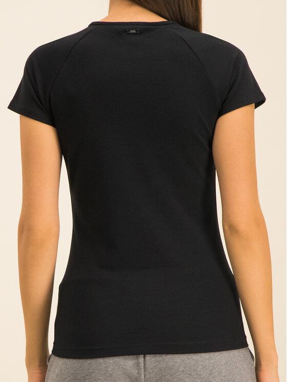 Armani Exchange Armani Exchange T-Shirt 3HYMAN YJ90Z 1200 Černá Slim Fit