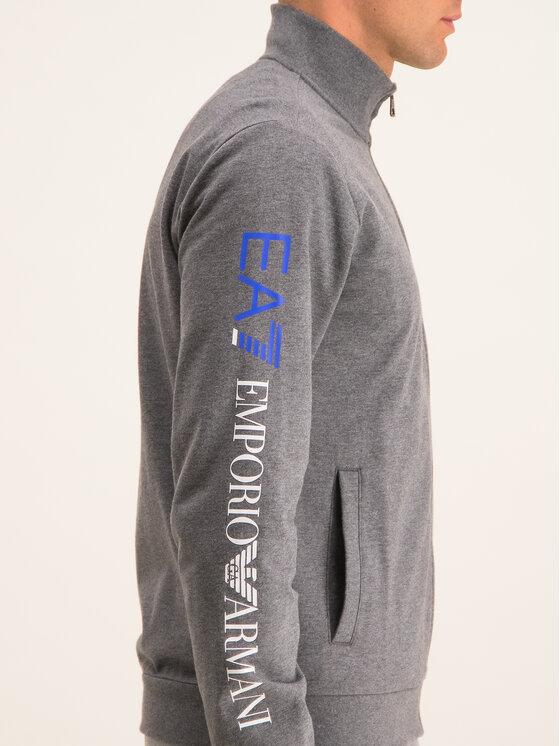 EA7 Emporio Armani EA7 Emporio Armani Sweatshirt 3GPM23 PJ05Z 3925 Grau Regular Fit