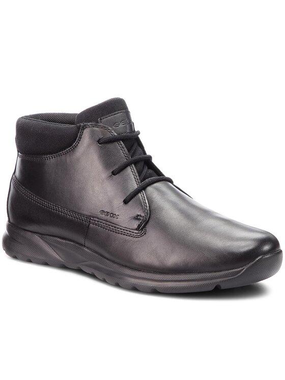 Geox Geox Обувки U Damian A U840HA 00043 C9999 Черен