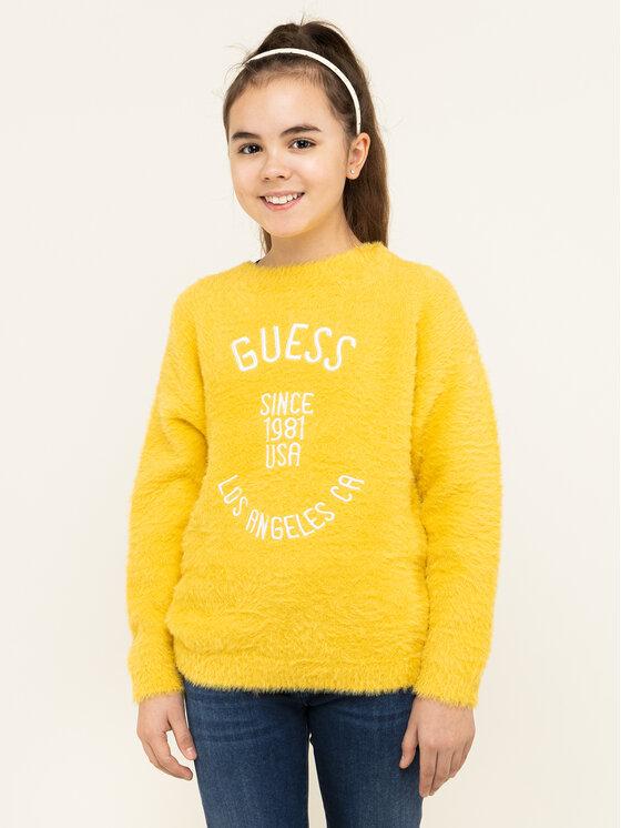 Guess Guess Sweater J94R12 Z2JA0 Sárga Regular Fit