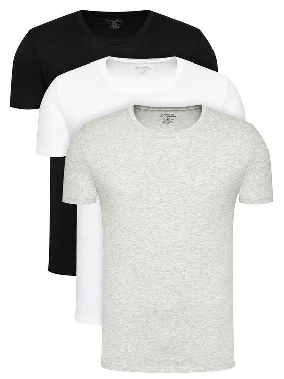 Calvin Klein Underwear 3 marškinėlių komplektas 000NB4011E Spalvota Classic Fit