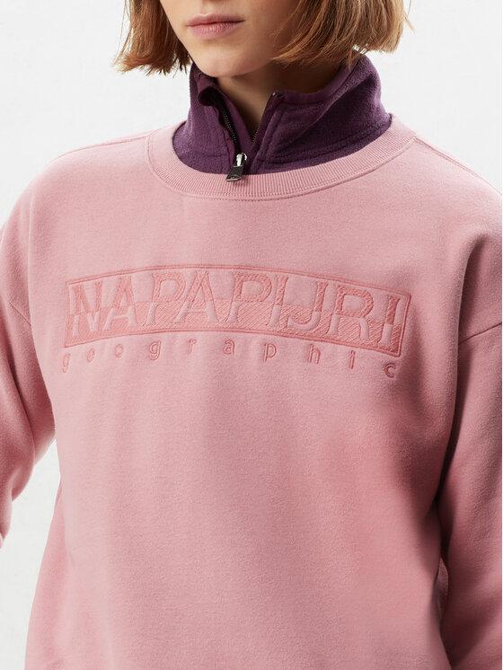 Napapijri Napapijri Bluză Berber N0YIXJ Roz Regular Fit