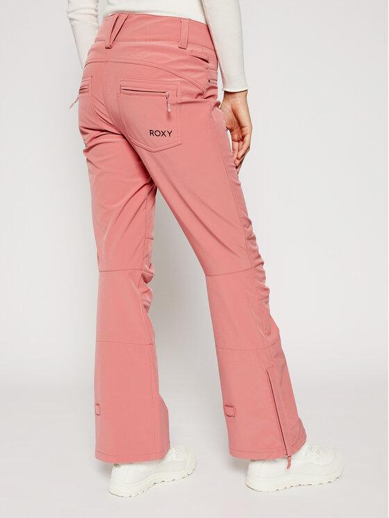 Roxy Roxy Spodnie narciarskie Creek ERJTP03123 Różowy Skinny Fit