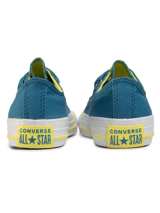 Converse Converse Plátěnky Ctas Ox 667790C Modrá