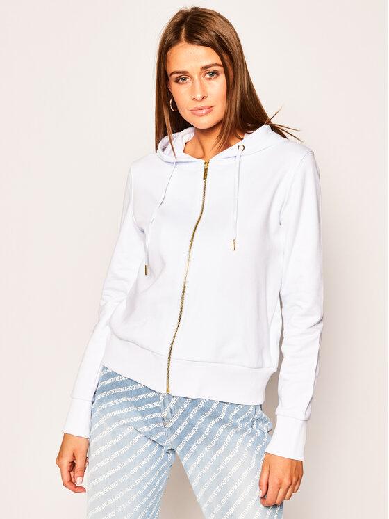 Versace Jeans Couture Versace Jeans Couture Mikina B6HVA70T Bílá Regular Fit