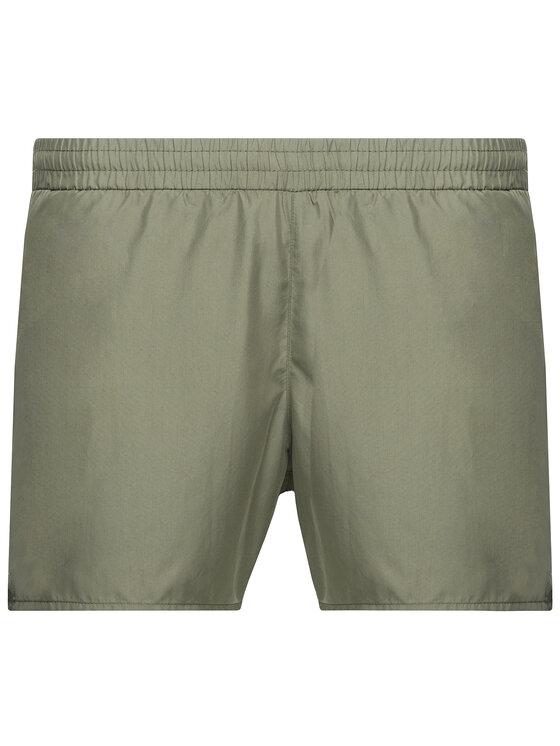 Emporio Armani Emporio Armani Plavecké šortky 211746 9P424 01781 Zelená Regular Fit