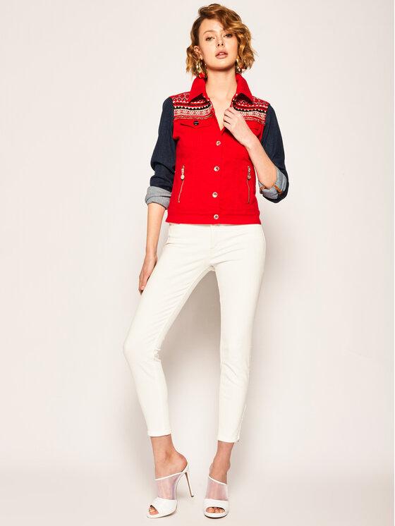 Lee Lee Skinny Fit Jeans Scarlett Cropped L30CKW36 Weiß Skinny Fit