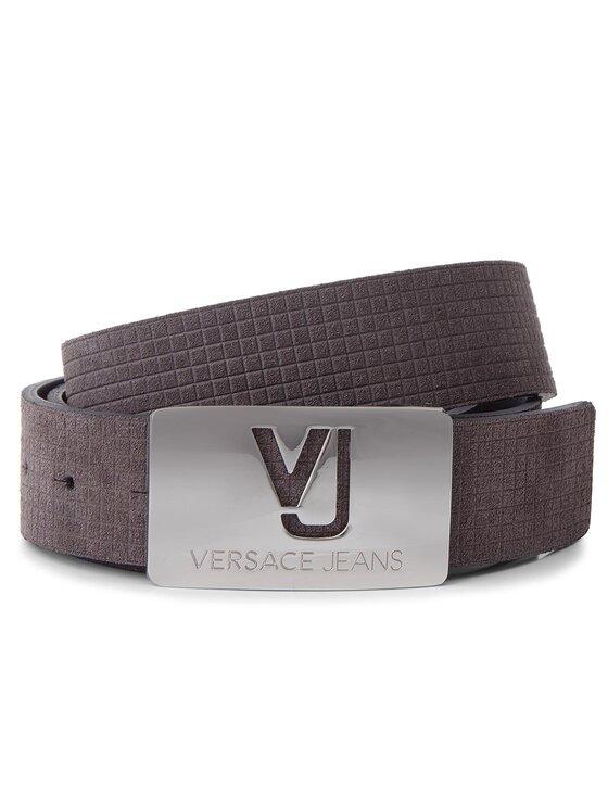 Versace Jeans Versace Jeans Pánsky opasok D8YSBF06 100 Hnedá