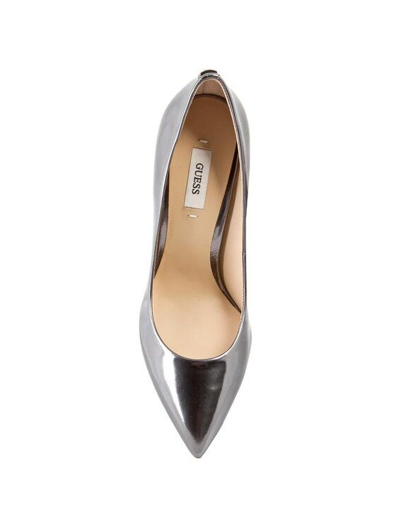 Guess Guess Обувки на ток Plasmia2 FL1PM2 LEP08 Сребрист