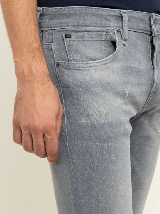 Guess Guess Skinny Fit džínsy M01AN2 D3YF1 Sivá Skinny Fit