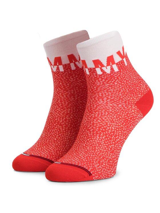 TOMMY HILFIGER TOMMY HILFIGER Súprava 2 párov vysokých dámskych ponožiek 391007001 Tmavomodrá