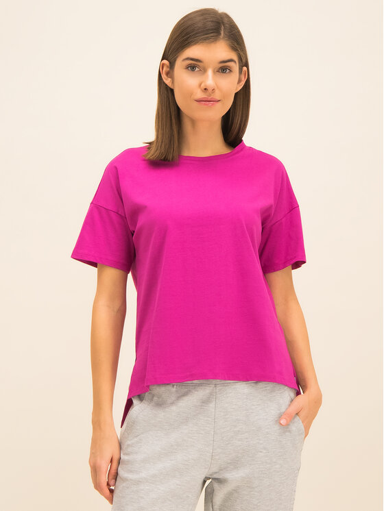 Armani Exchange Armani Exchange T-Shirt 3HYTCB YJX5Z 1474 Rosa Regular Fit