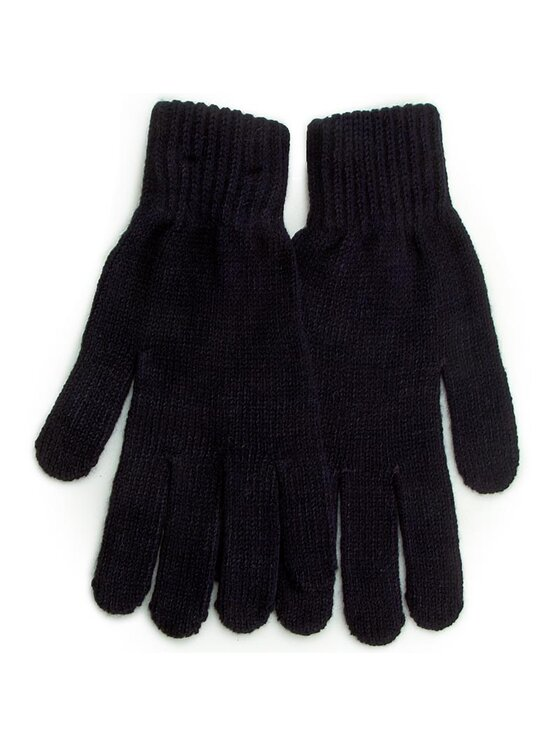 Tommy Hilfiger Tommy Hilfiger Дамски ръкавици TH Patch Gloves Solid AW0AW03342 S/M Тъмносин