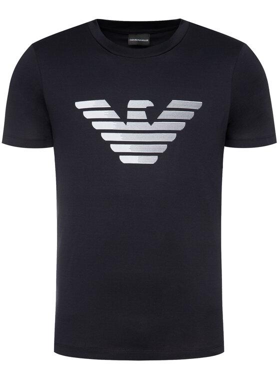 Emporio Armani Emporio Armani T-shirt 3H1TD0 1J30Z 0922 Blu scuro Regular Fit