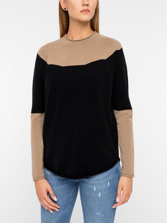 Marella Marella Пуловер Gerbera 33661496200 Черен Regular Fit