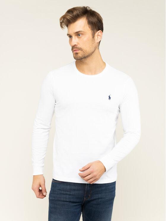 Polo Ralph Lauren Polo Ralph Lauren Hosszú ujjú Classics 710671468004 Fehér Custom Slim Fit