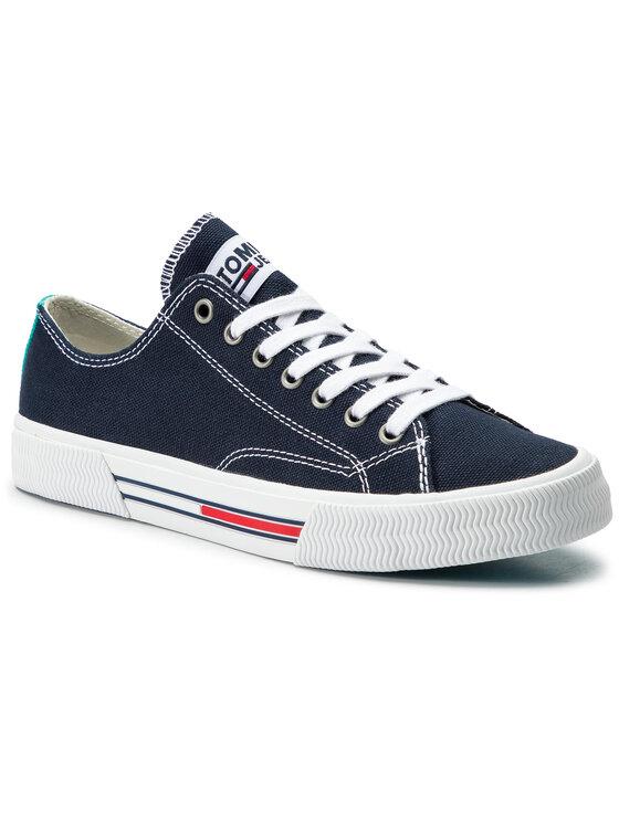 Tommy Jeans Tommy Jeans Tenisky Classic Tommy Jeans Sneaker EN0EN00590 Tmavomodrá