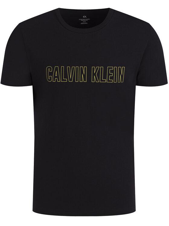 Calvin Klein Performance Calvin Klein Performance Тишърт Logo Print 00GMS0K299 Черен Regular Fit