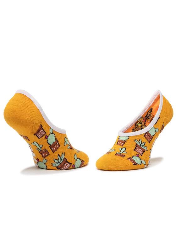 Vans Vans Zestaw 3 par stopek dziecięcych Beachin' Canoodles Socks VN0A4DSK4481 r.31.5-36 Żółty