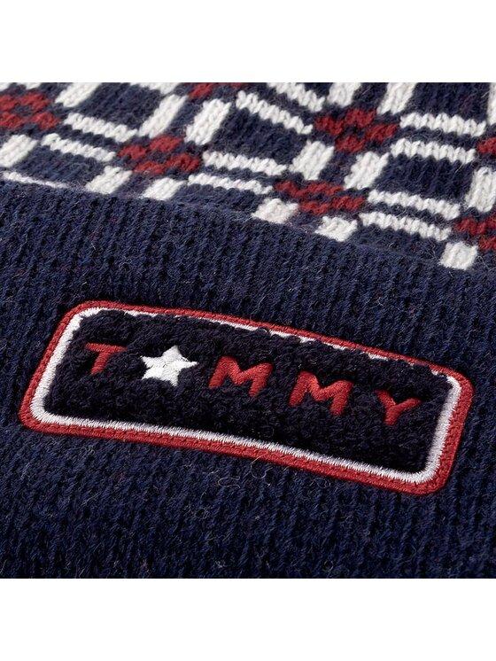 Tommy Hilfiger Tommy Hilfiger Σκούφος Oversized Beanie AW0AW04403 Σκούρο μπλε