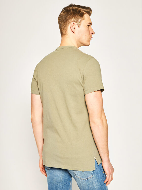 G-Star Raw G-Star Raw T-Shirt Gsraw Gr D16388-4561-2199 Zielony Regular Fit