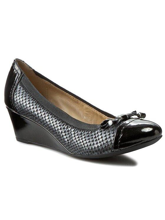 Geox Geox Κλειστά παπούτσια D Floralie A D54T4A 0RZHH C9999 Μαύρο