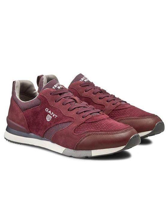 Gant Gant Sneakersy Russell 11631905 Bordowy