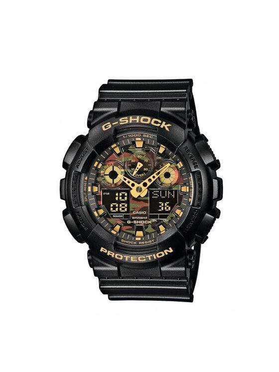 G-Shock Laikrodis GA-100CF-1A9ER Juoda