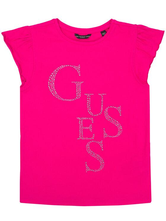 Guess Guess T-shirt J01I07 K82K0 Rosa Regular Fit
