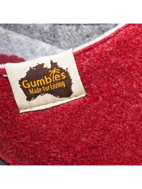 Gumbies Gumbies Kapcie Outback Czerwony